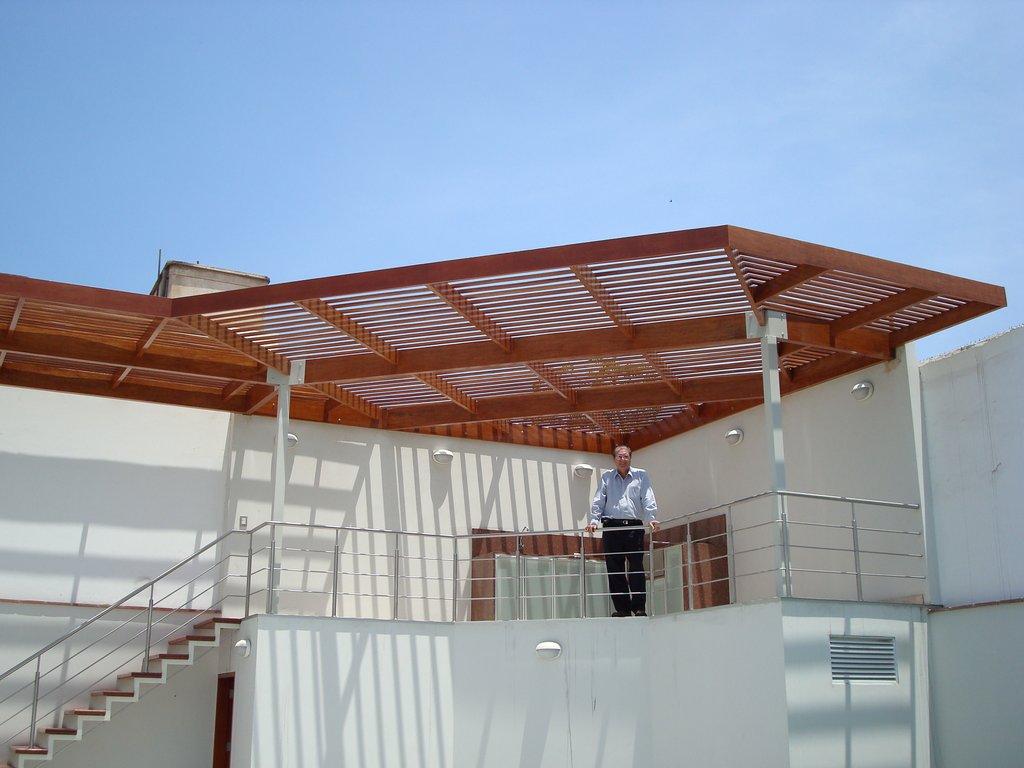 Portafolio techos de madera sol y sombra policarbonato for Techos de policarbonato para azoteas